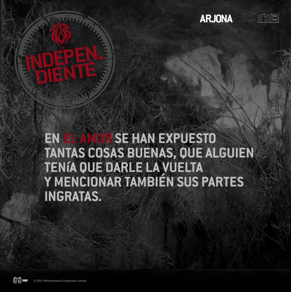 Ricardo Arjona Independiente Box Surprises El Blog